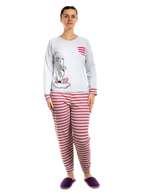 Пижама: лонгслив и брюки | 5653022