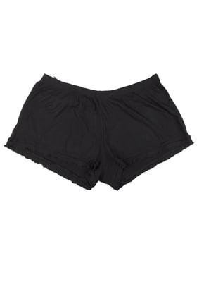 Шорти піжамні чорні | 5642545