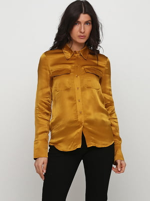 Рубашка золотистого цвета | 5662465