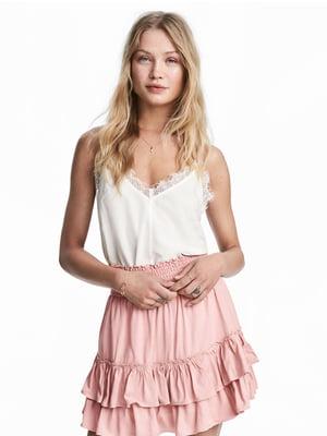 Юбка розового цвета | 5662514
