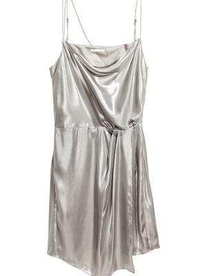 Сукня сріблястого кольору | 5662541