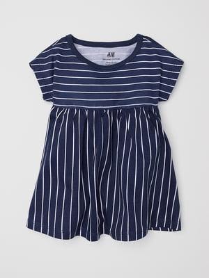 Сукня синя в смужку | 5662580