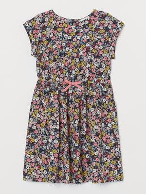 Платье розового цвета в цветочный принт   5662585