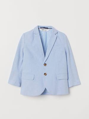Пиджак голубого цвета | 5662603