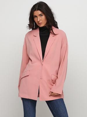 Жакет розового цвета | 5662607