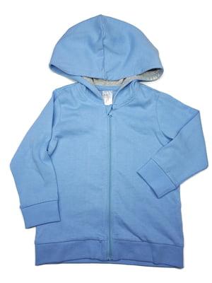 Толстовка голубого цвета | 5662612