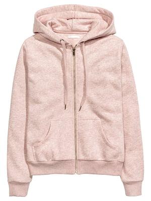Толстовка рожевого кольору | 5662614