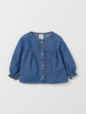 Блуза-сорочка синя | 5662642