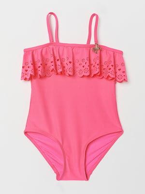 Купальник рожевого кольору | 5662665