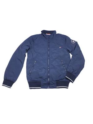 Бомбер синий | 5662778
