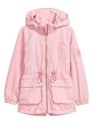 Парка розового цвета | 5662785