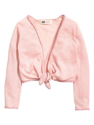 Болеро розового цвета | 5662794