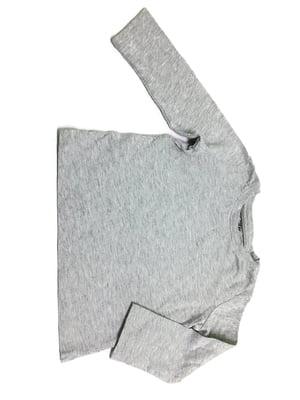 Лонгслив серый | 5662797