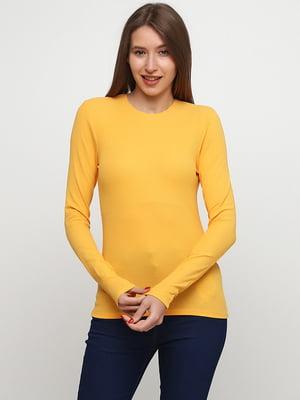 Лонгслив желтый   5662803