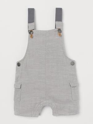 Полукомбинезон серый | 5662856