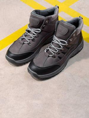 Ботинки серые | 5648021