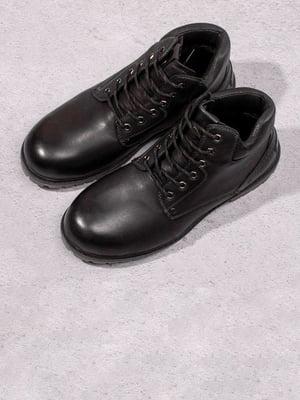 Ботинки черные | 5648581