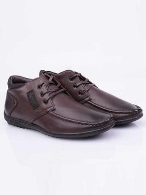 Ботинки коричневые | 5650102