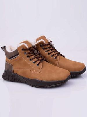 Ботинки коричневые | 5650116