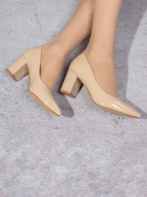 Туфли бежевые | 5648931