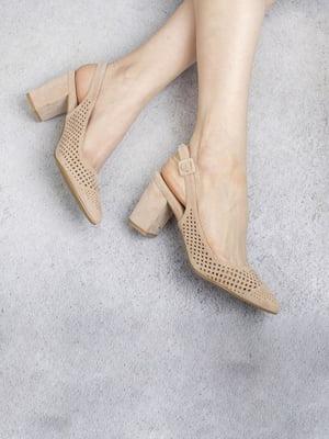 Туфли бежевые | 5649027