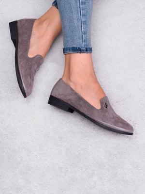 Туфли серые | 5649189