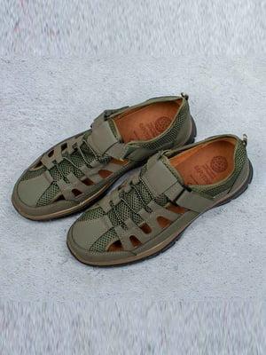 Туфли цвета хаки | 5649013