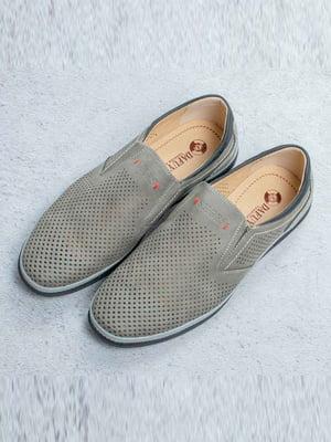 Туфли серые   5649016