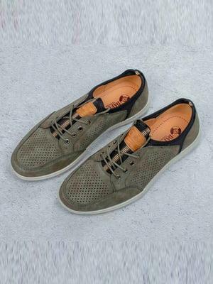 Туфли цвета хаки | 5649017