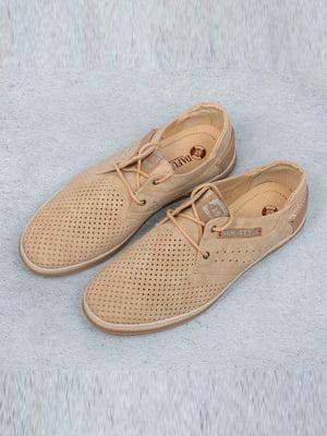 Туфли бежевые | 5649024