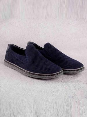Туфли синие   5649079