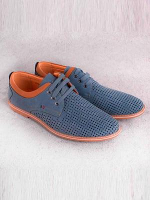 Туфли синие   5649095