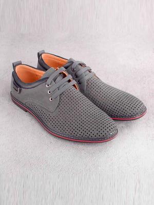 Туфли серые | 5649097