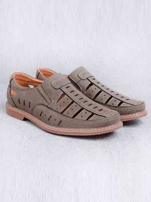 Туфли цвета хаки | 5649107