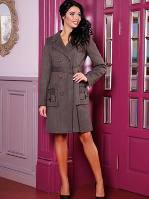 Пальто сіре | 5663308