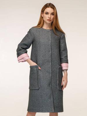 Пальто сіре | 5663314