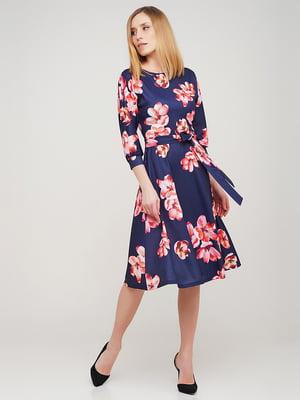 Сукня в квітковий принт | 5663602