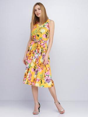 Сукня в квітковий принт | 5663635
