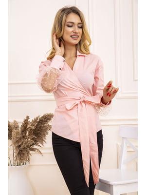 Блуза персикового кольору | 5663763
