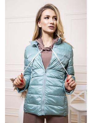 Куртка светло-мятного цвета | 5663891