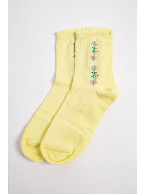 Шкарпетки жовті   5663905