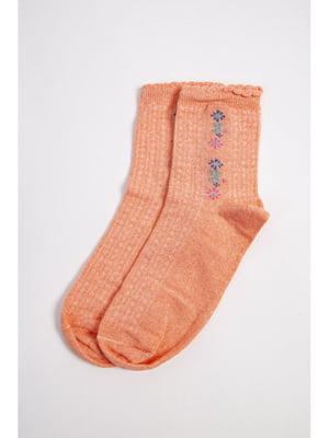 Носки персикового цвета | 5663906