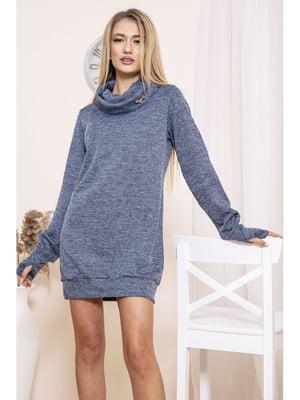 Платье синее | 5663968