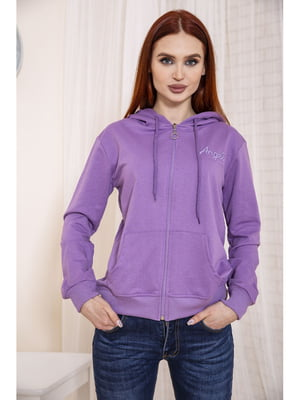 Толстовка фіолетова | 5664162