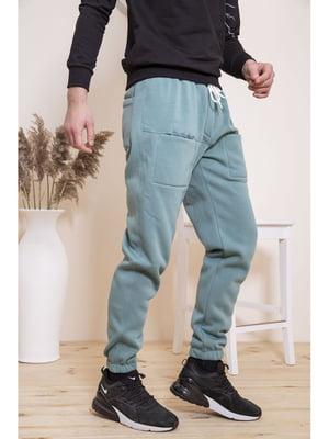 Штани оливкового кольору | 5664175