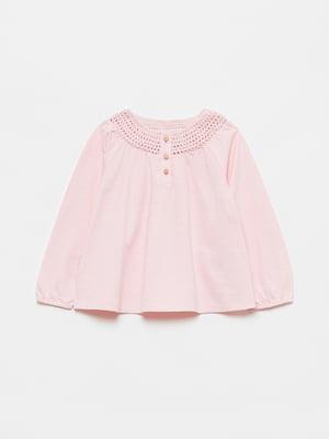 Блуза рожевого кольору | 5651018