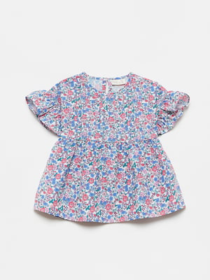 Блуза в цветочный принт | 5651038