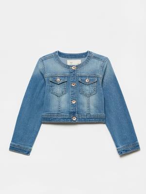Куртка синя джинсова | 5651048