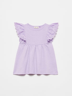Блуза сиреневого цвета | 5651126