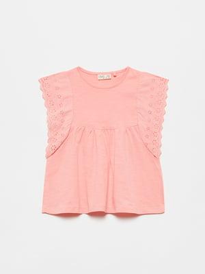 Блуза кольору пудри | 5651128